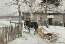 Masterpieces of Tretyakov Galery