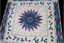 Quilts - New York Beauties & Mariner's Compasses / by Joye Hawkins