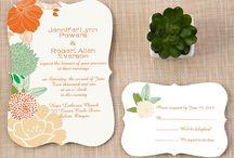 Fancy Shapes Wedding Invitations