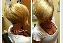 Hair-Short / Cute and easy hair styles for women.