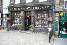 Our Haworth Shop / Our Apothecary shop in Haworth, Yorkshire - where it all began!
