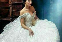 ♛ Wedding ♛ / wedding dresses, wedding hairstyles..