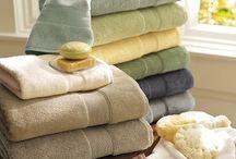 Solid color towels