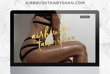 Airbrush Tanning / Airbrush Tan by Shan is Tampa's favorite spray tan girl. Follow us for all things tan and beauty inspired. #spraydontlay #protecttheskinyourin www.AirbrushTanbyShan.com