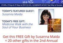 Winter Solstice Giveaway 2014 / 21 Sweet Gifts for YOU and Your Business Because You Deserve It! Join us for the Winter Solstice Giveaway