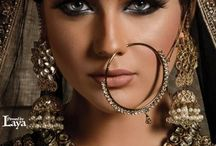 ethnic jewlery and make up