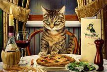 CAT art by Charles Wysocki