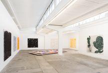 Vues de l'Exposition A Day in the Studio Peter Roesch / du 16 avril au 2 mai 2015 | LiveInYourHead Institut curatorial de la HEAD – Genève Rue du Beulet 4 1203 Genève Me-Sa de 14h à 19h / by HEAD – Genève