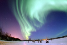 Auroras: Borealis-Northern Lights and Australis-Southern Lights / Northern Lights and Southern Lights / by Amanda Miller-Robertson