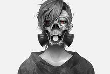 Anime & Manga / Death Note, Another, Vampire Knight, Tokyo Ghoul, Zankyou no Terror, Psycho-Pass, Attack on Titan, Diabolik Lovers, Kuroshutsuji, Free!, etc.