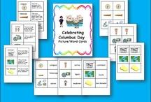 Classroom Theme: Columbus Day