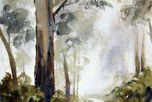 watercolo / malarstwo