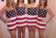 American themed costumes