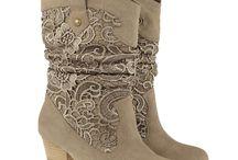 kant (lace) boota+skoene