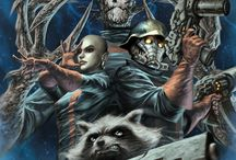 Comic Art - Guardians of the Galaxy