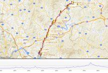 북한강울트라마라톤코스도 / 북한강울트라마라톤대회 코스안내 60km, 100km