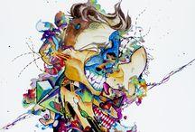 Puro arte / Buenas, soy una chica de 23 años. Me apasiona el arte, pintar, dibujar, todo lo que sea combinación de formas, colores etc. Aprovecho esta página para ofrecerme como ilustradora para cualquier encargo que tengáis. Manejo técnicas tradicionales (acrílicos, óleos, acuarelas, etc) como digital. Hago desde caricaturas hasta diseños para tatuajes. Os dejo aquí el link para que le echéis un vistazo al trabajo que hago. https://www.facebook.com/TheMPloti?ref_type=bookmark Graciaaas!