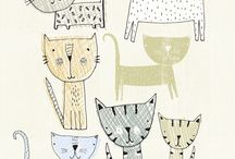 Cat: illustrations / drawings