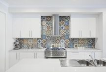 Marrakesh 8 X8 Porcelain Tile Glossy And Matte Patterned