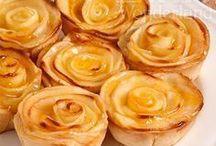 mini tartaletas de manzana
