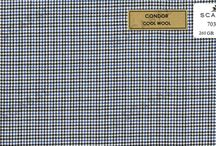 Scabal Offer Fabric / This is some of the Scabal fabric that we have on offer for suits, jackets and trousers for May and June 2015. The collection is a wide range of high quality cool wool suits, 2 ply in warp and weft. They are light (260 gr) fresh and extremely comfortable to wear in the summer.