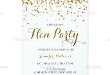 hens night invites