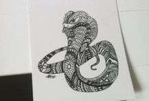 Hand Drawing / Bespoke Hand Drawing by Jack Gunns Visit www.jackgunns.com/shop/ for more!  or follow  @gunns_designs on instagram  #handdrawing #art #sketching #design #sketches #animal sketches