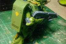Gundam Model Kit / this is my gundam model kit progress after i look all reference in pinterest and instagram