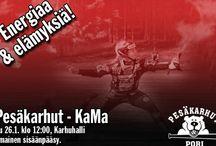 Pesäkarhut vs. Kamattaret / Pesäkarhut avaa kauden 2014 kohtaamalla Kamattaret harjoitusottelussa sunnuntaina 26.1 kello 12.00 #energiaajaelämyksiä. Pesäkarhujen ensimmäinen harjoitusottelu päättyi 2-0 voittoon jaksoin 2-1 ja 5-0