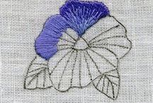 flat embroidery