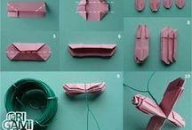 Paper ideas and origami