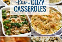 CASSEROLES FOR DINNER / by Jean Smith