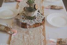 mesas decoración