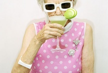 When I grow up... / I want to be a eccentric Brighton old lady in leopard skin and tutu!