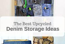 DIY Storage Ideas / Organization, Storage, Home, DIY, Tidy, Sort