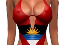 National Flags Swimsuits