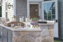 Day Kitchen / Outdoor kitchens/ dining / by Hilary Ward