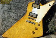 Gibson Explorer Korina replica 1959 relic'd RS