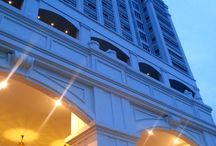 Eastern & Oriental Hotel / E & O Hotel Malaysia - built by the Sarkies brothers in 1885 on the Straights of Malacca. Victory Annex - July 2013