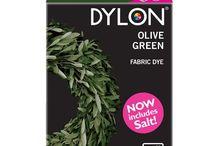 DYLON Zeytin Yeşili - Olive Green - Fabric Dye With Salt