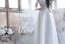 Alisa collection 2016 www.alisa.fr / Alisa wedding dress fashion designer, collection 2016 ,, Dark Angel,,