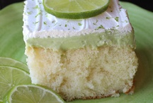 Poke Cakes / Cakes with Jello or Pudding and whipped cream topping / by Kathy McNutt