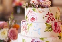 Hand painted cakes / by Jenniffer White