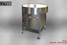 BE&SCO Tortilla Grills / Counter Top and Stationary Tortilla Grills (Comals)