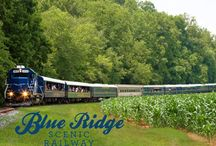 Twin Mountain Towns of McCaysville, GA and Copperhill, TN / Visit two states at the same time when you visit McCaysville, GA and Copperhill, TN. A few miles from beautiful Blue Ridge you will find these gems on two rivers: Toccoa and Ocoee. Enjoy the twin mountain towns! #blueridgega #mccaysvillega