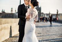Pre wedding prague by pelucha / Pre wedding photos photographed in prague by wedding photographer petr pelucha.
