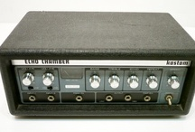 Tape delay echo machines