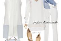 Fashión Hijab: White outfit / Looks en blanco.  #hijab #hijabers #hijabfashion #hijabmurah #hijaber #hijabootd #hijabista #hijaboutfit #hijabsyari #hijabchic #hashtaghijabista