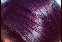 bordo purple hair