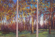Orchards / Pastel Paintings